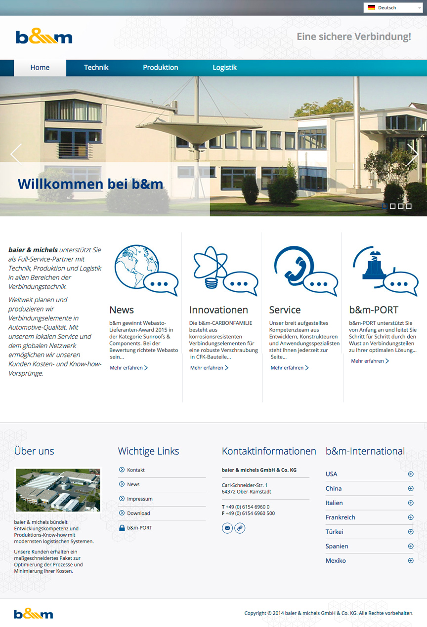 Business Webseiten